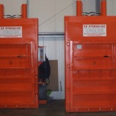 CK500KG Balers Supplied to Homewise UK